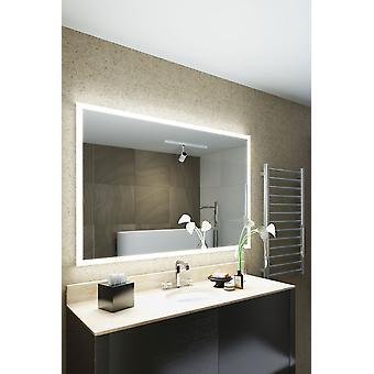Salma golarka Edge LED łazienka Mirror kropli Pad & czujnik k8402h