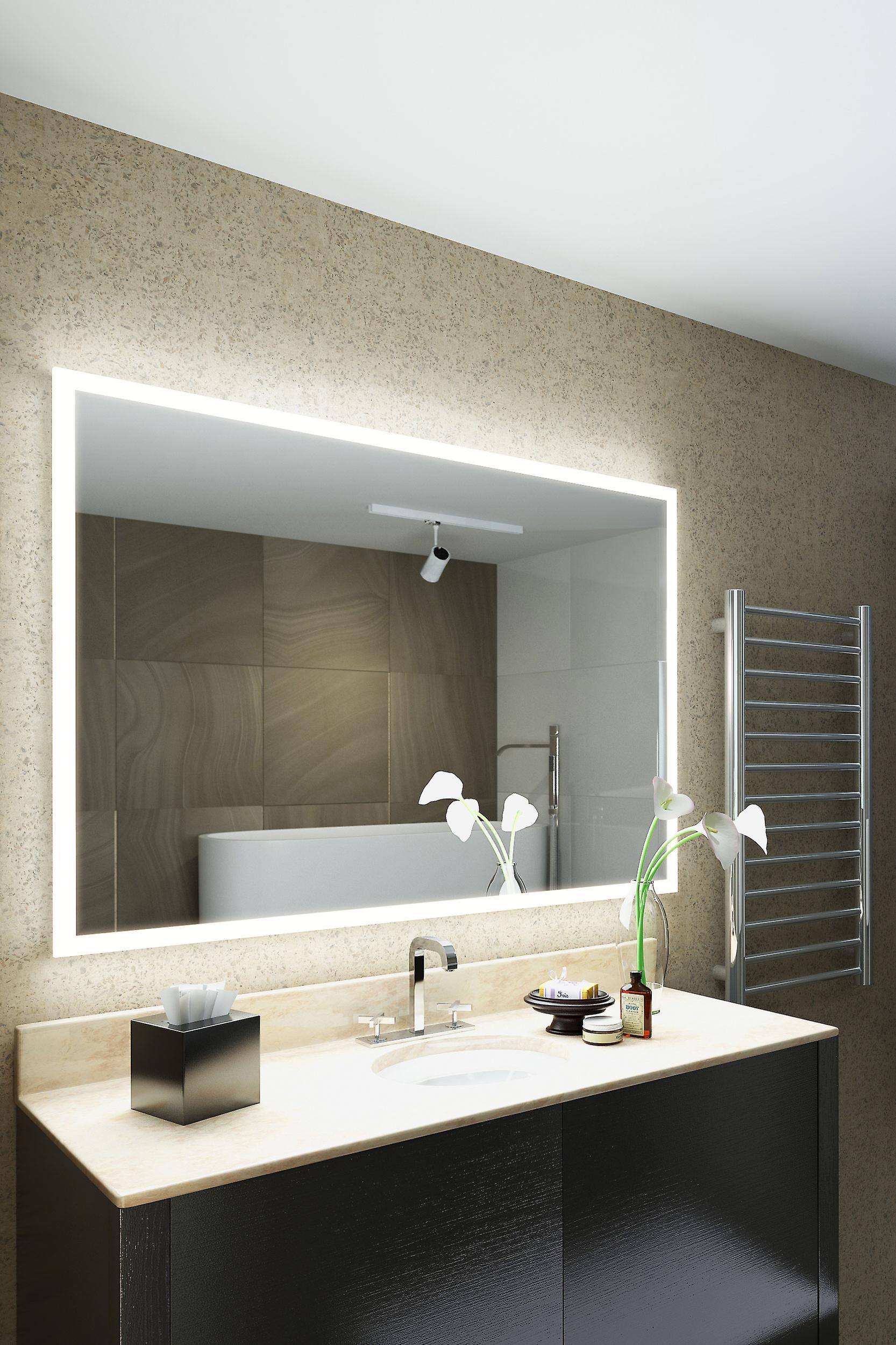 Salma Shaver Edge LED Bathroom Mirror Demister Pad & Sensor k8402h