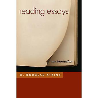 Lezing Essays - een uitnodiging van G. Douglas Atkins - 9780820330303 Bo