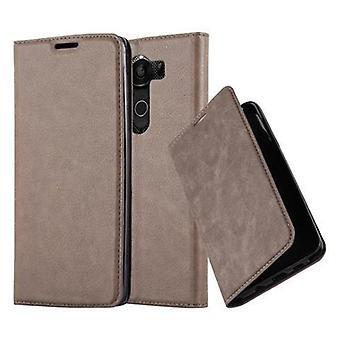 Cadorabo fallet för LG V10 fodral Cover-telefon väska med magnetstängning, stand funktion och kort Case kupé-Case täcka fall fall fall fall bok Folding Style