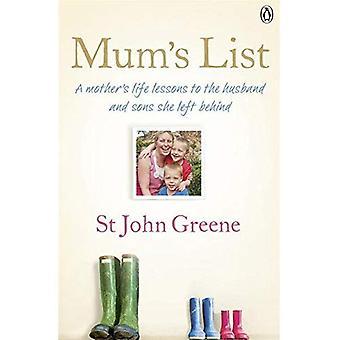 Lista de mamá