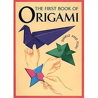 Eerste boek van Origami