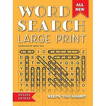 Word recherche gros caractères (Orange): jeu de mot rebondissements et défis (puissance Puzzle)