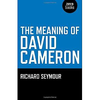Innebörden av David Cameron