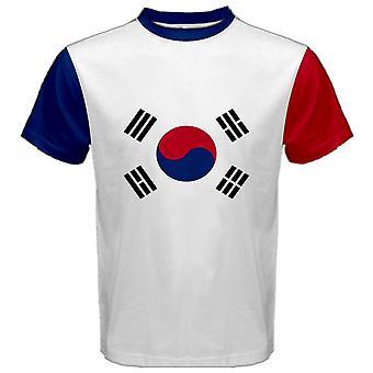 Южная Корея герб Сублимированные спортивный трикотаж