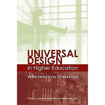 Universal Design in Higher Education - From Principles to Practice by