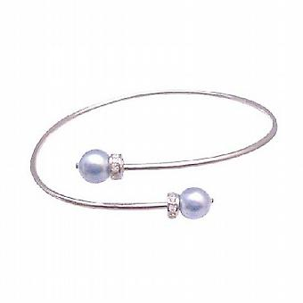 Abiti Jeewelry polsino bracciale w / Lite perle blu