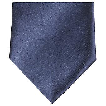 Knightsbridge Neckwear régulière Polyester Tie - Dark Navy