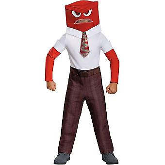 Anger Child Costume From Inside Out Movie