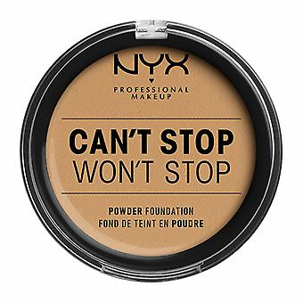 NYX PROF. MAKEUP Can't Stop Won't Stop Powder Foundation - Beżowy