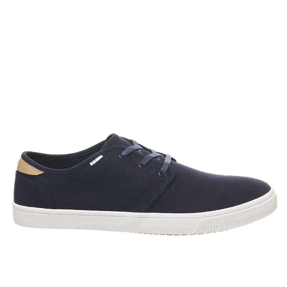 Toms Heritage Canvas Lace Trainers