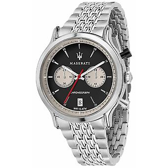 Maserati | Epoca Racing 42mm | Stainless Steel Bracelet | Black Dial R8873638001 Watch