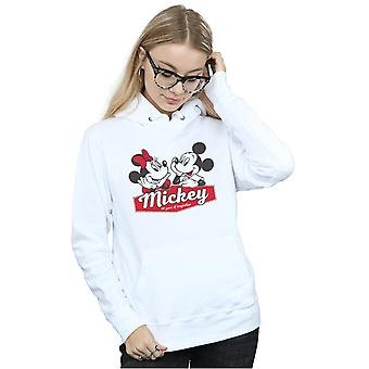 Disney Women ' s Mickie och Minnie 90 år hoodie