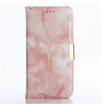 Lompakko kotelo marmori-Samsung Galaxy S10
