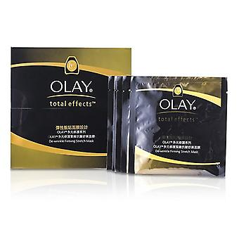 Olay Total Effects De-wrinkle Firming Stretch Mask - 5pcs