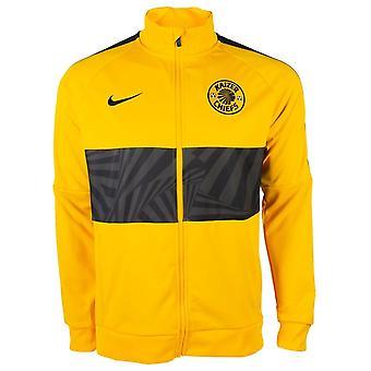 2019-2020 Kaizer Chiefs Nike I96 jakke (guld)