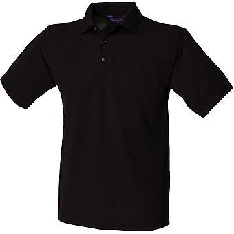 Henbury - Mens 65/35 Classic Piqué Polo Shirt