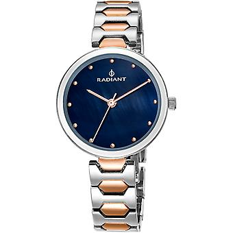 Radiant new dressy Quartz Analog Woman Watch with RA443203 Gold Plated Stainless Steel Bracelet