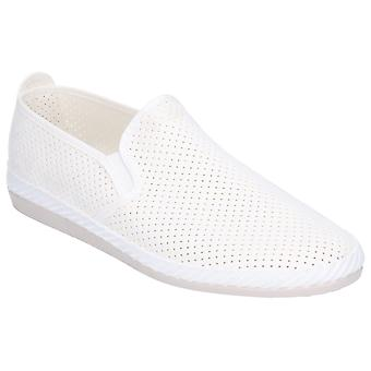 Flossy Mens Vendarval Slip On Shoe White