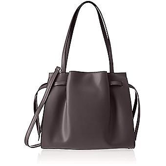 Chicca Bags 8875 Brown Women's shoulder bag (TMORO) 39x28x15 cm (W x H x L)