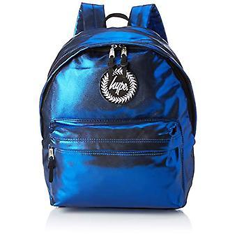 Hype Matte Foil - Unisex-Adult Backpack - Multicolor (Blue/White) - 30x41x15 cm (W x H x L)