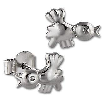 SilberDream pro děti a puberty-stříbrné náušnice Sterling 925 VSDO409