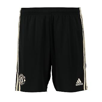 2019-2020 Man Utd Adidas Away Shorts (Kids)