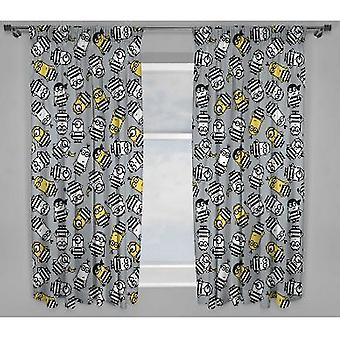 Despicable Me Jailbird Curtains