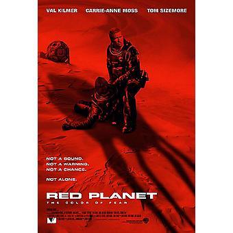 الكوكب الأحمر (2000) ملصق السينما الأصلي