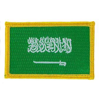 Patch Patch Patch Brode Flag Saudi Arabia Thermocollant Insigne Blason