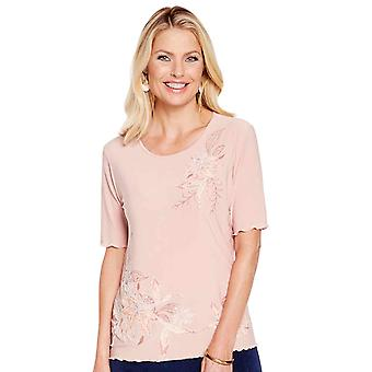 Amber Ladies Print Top
