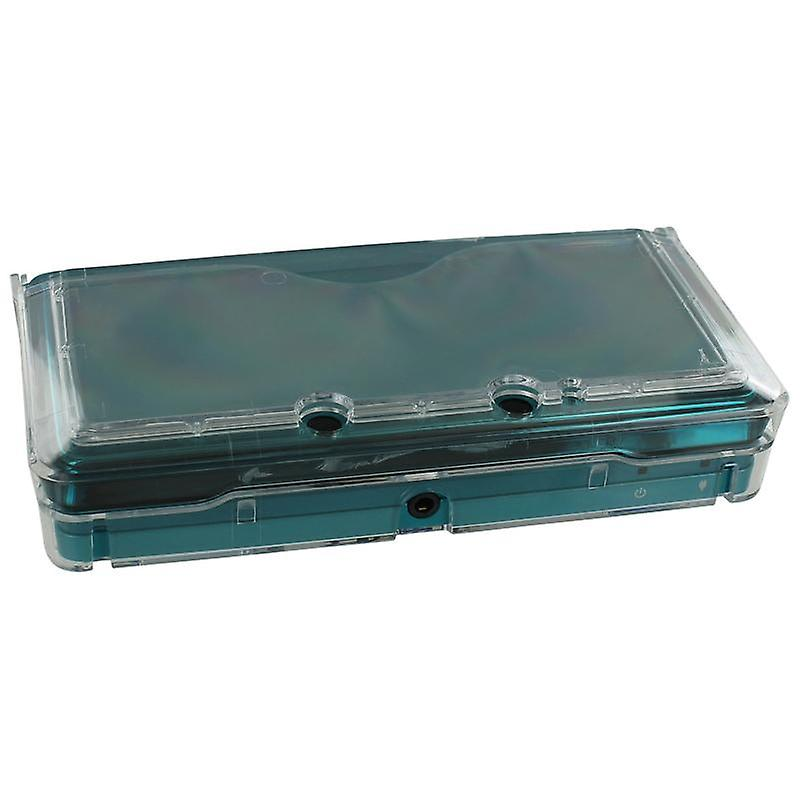 Crystal case for nintendo 3ds (old 2012 model) - protective hard armor cover shell - clear