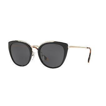 Prada SPR20U 1AB5S0 Pale Gold-zwart/grijs zonnebril