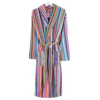 Bown of London Multi Striped Dressing Gown - Rainbow