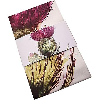 Highland Collection - Thistle/Flower of Scotland Utierka od Clare Bairdovej