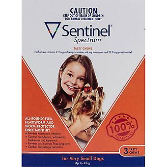 Sentinel Spectrum Dogs Under 9lbs (4kg) - 3 Chewables