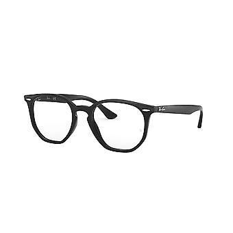 Ray-Ban HEXAGONAL RB7151 2000 Schwarze Brille