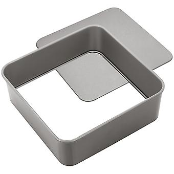 Judge Bakeware, Square Cake Tin, Loose Base, 23 X 23 X 7cm, (9 X 9 X 2�inch)