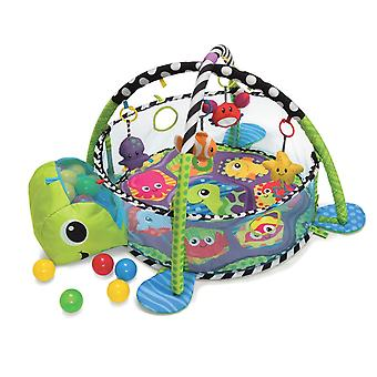 LaDiDa Baby Gym with ball pit Baby Turtle