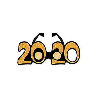 2020 flonkerde kunststof brillen