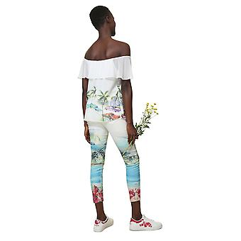 Desigual Women-apos;s Colette Floaty Floral Gypsy Blouse