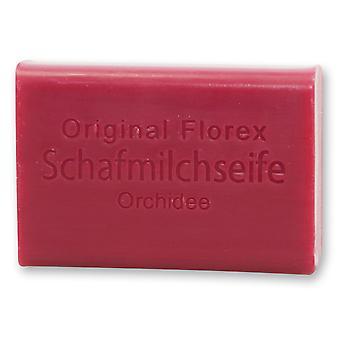 Florex Schafmilchseife - Orchidee - mit einem sinnlichen Duft der Orchidee 100 g