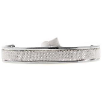 Les verwisselbare armband A47447-Jonc Ruban verwisselbare 6mm blauw grijs licht vrouwen