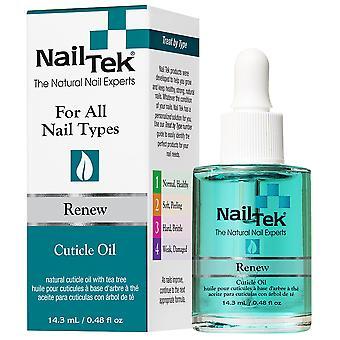 Nagel Ergänzungen: Nail Tek Renew Anti-Fungal Nagelöl (Größe : 0,5 oz)