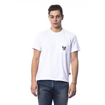 Men's White White Short Sleeve T-shirt
