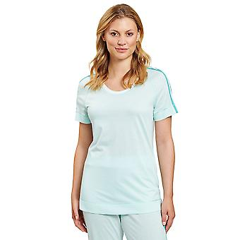 Rösch 1203209-10068 Naiset's Pure Mint Blue Loungewear Top