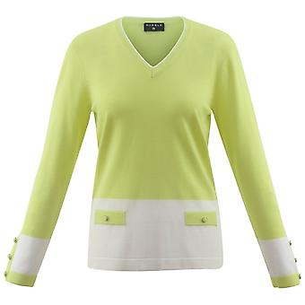 MARBLE Marble Lime Sweater 5592