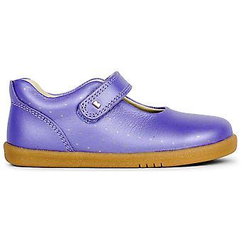 Bobux I-walk Girls Delight Shoes Grape Comet