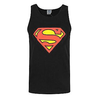 Superman Shield Logo Men's Vest