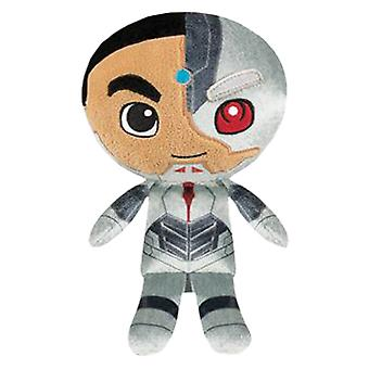 Justice League Movie Cyborg Hero Plush